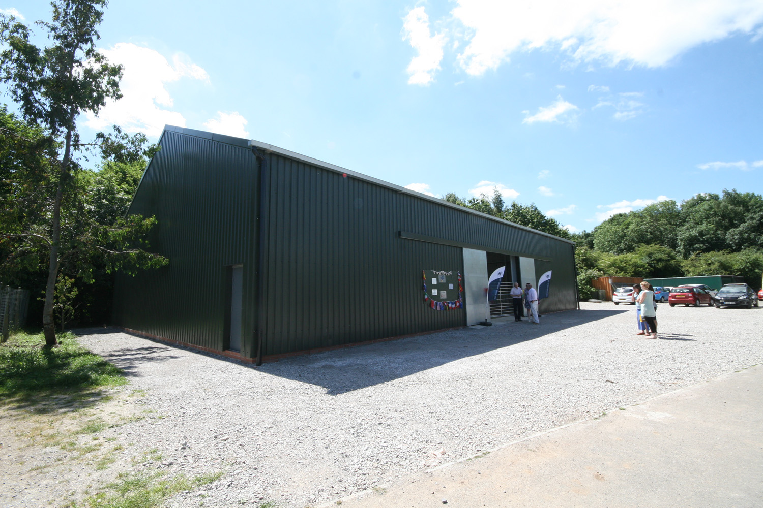 New Training Barn for Leicester Animal Aid Complete