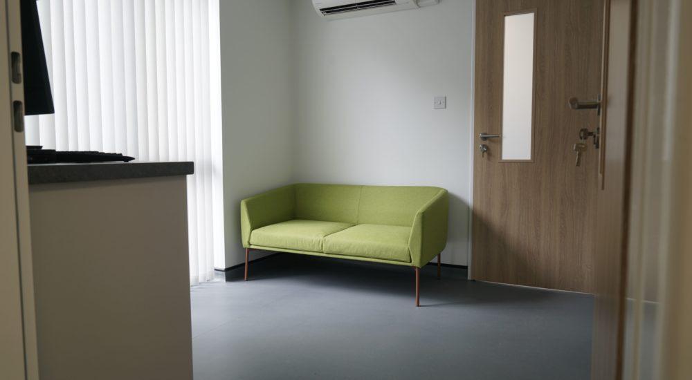 Quite consult room